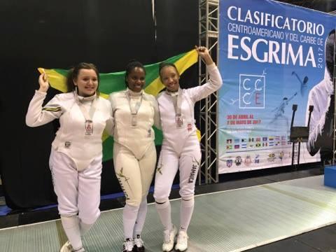 Jamaican fencing Federation Team CAC 2018