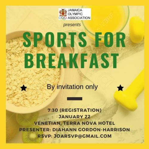 Sport For Breakfast April 2019