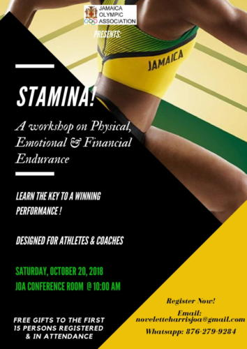 Stamina Sport Workshop